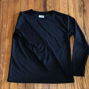 Other - Black long sleeve thermal shirt